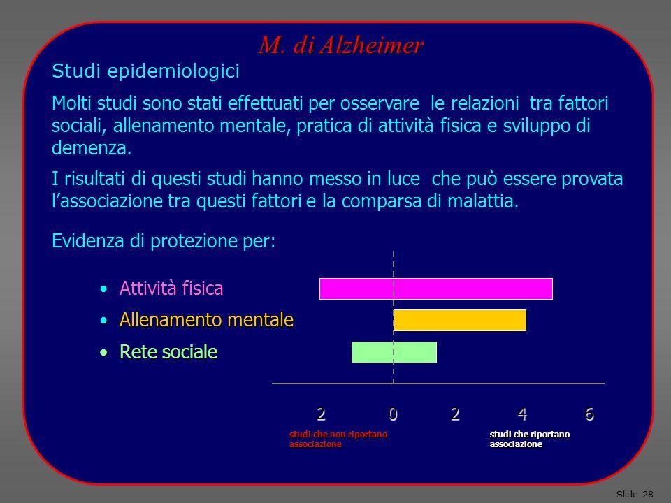 Studi epidemiologici Slide 28 M.