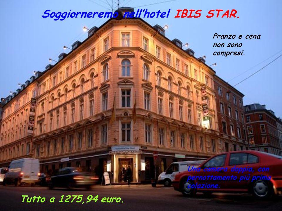 Soggiorneremo nellhotel IBIS STAR.Una camera doppia, con pernottamento più prima colazione.