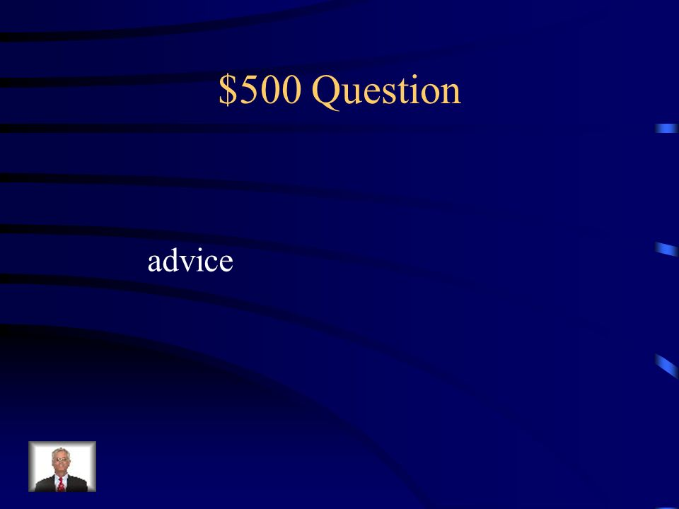 $400 Question Forbidden