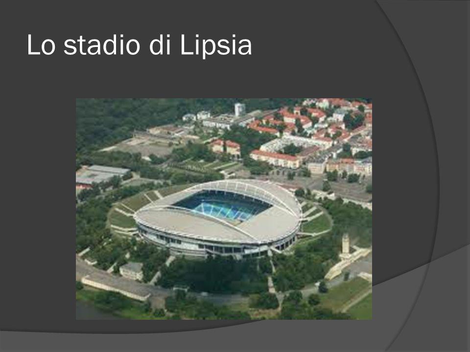 Lo stadio di Lipsia