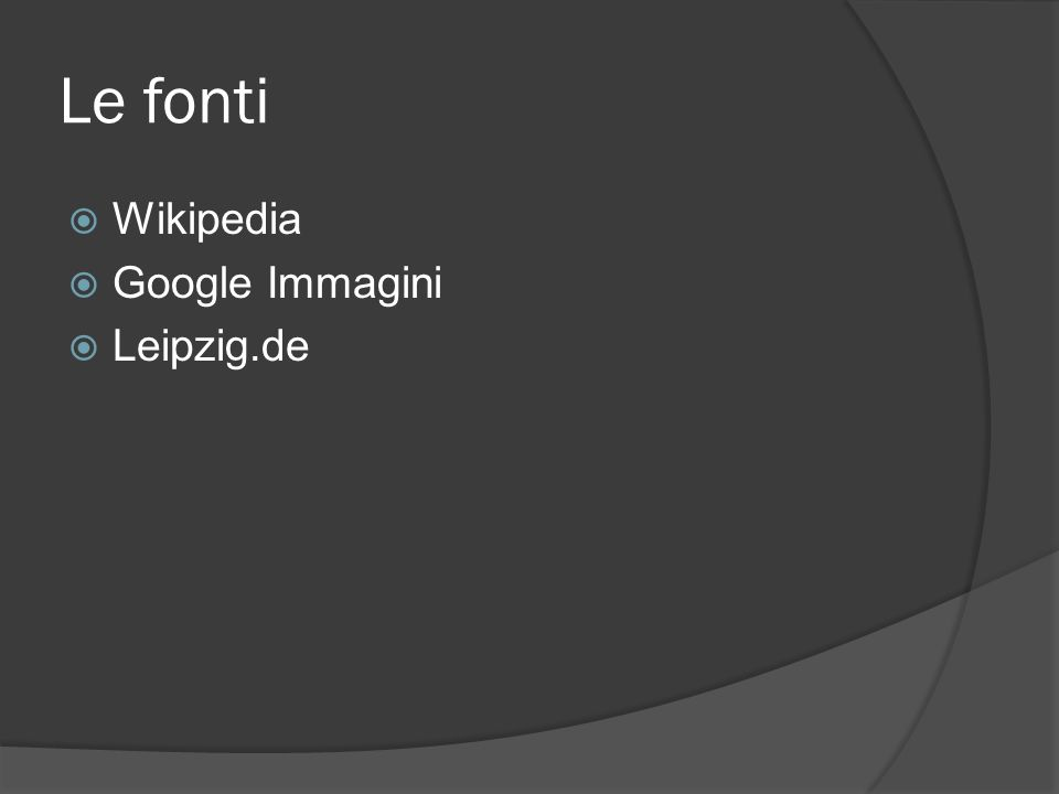 Le fonti Wikipedia Google Immagini Leipzig.de