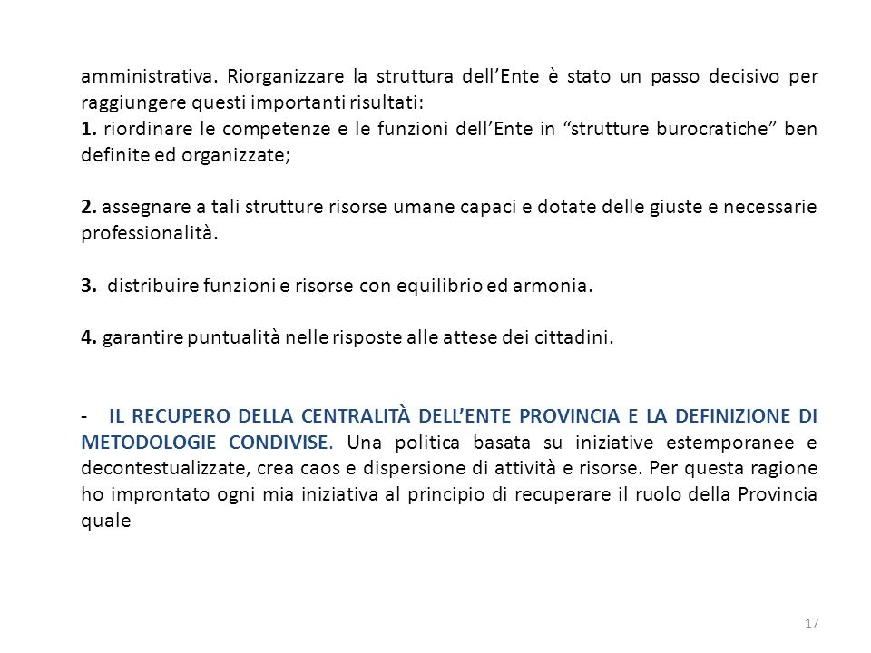 amministrativa.