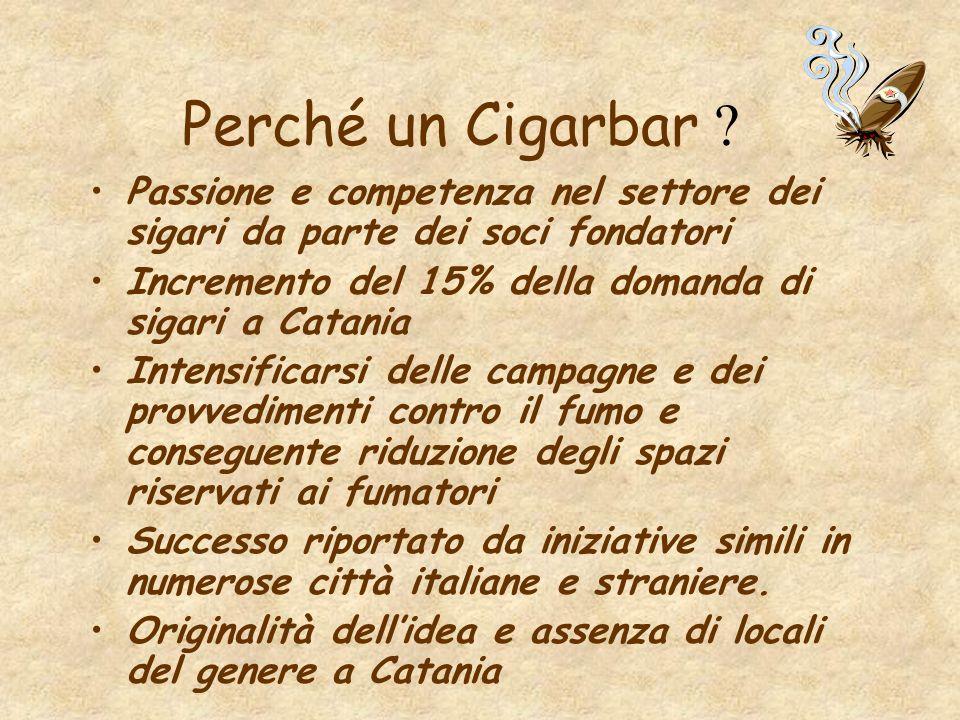Obiettivi di mercato Sviluppo di tale settore a Catania, che offre unottima possibilità di crescita