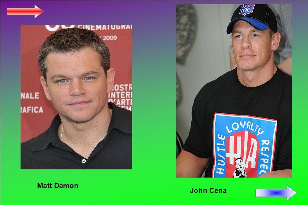 Matt Damon John Cena
