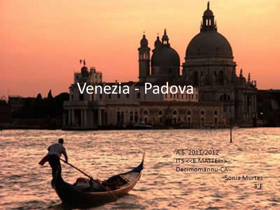 Venezia - Padova A.S. 2011/2012 ITS > Decimomannu-CA Sonia Murtas 3°F