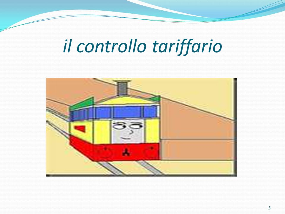 il controllo tariffario 5