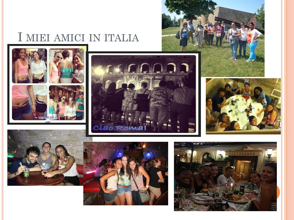 I MIEI AMICI IN ITALIA