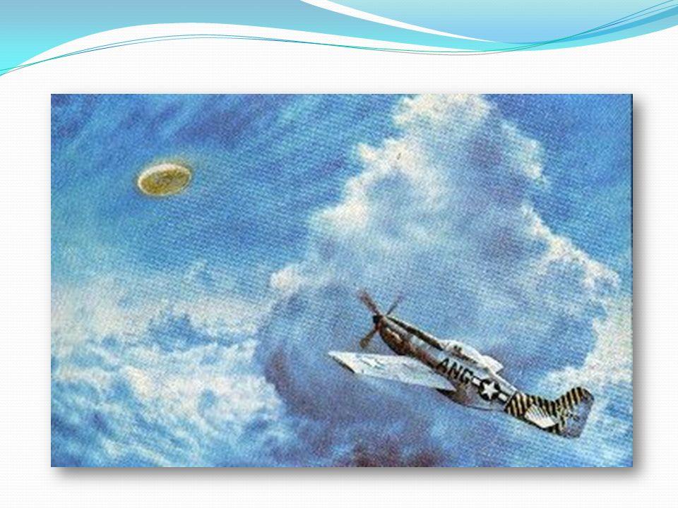 La tragica fine di Thomas Mantell AFB Godman, 7 gennaio 1948 Dopo aver sorvolato i depositi aurei di Fort Knox, nel Kentucky, un UFO si arresta sulla