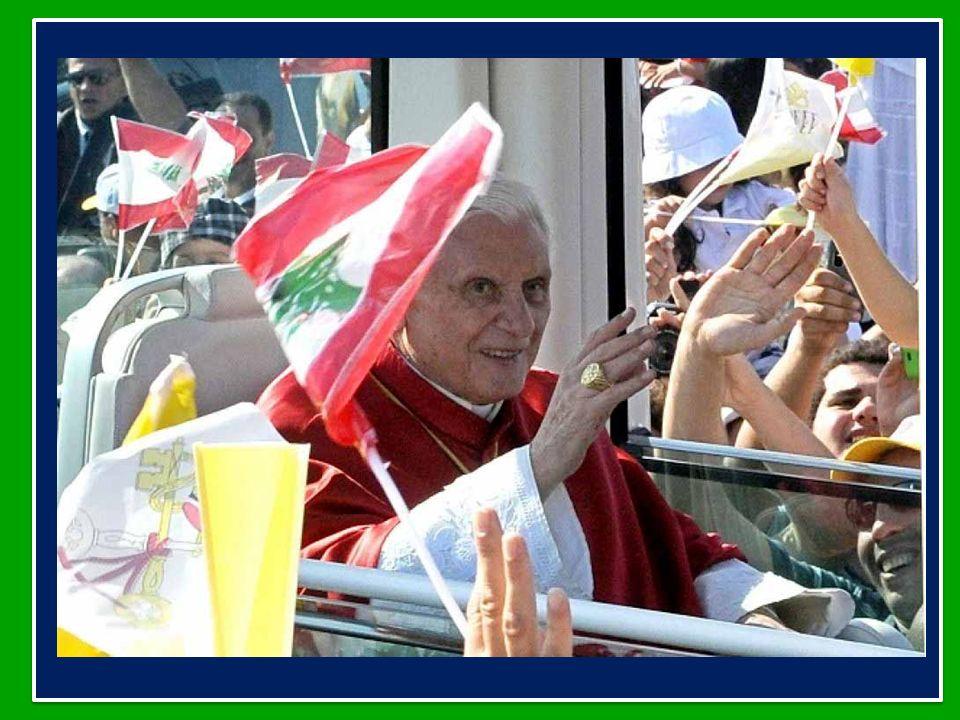 Benedetto XVI ha dedicato lUdienza Generale di mercoledì 19 settembre 2012 nellAula Paolo VI in Vaticano al Viaggio Apostolico in Libano in occasione della firma dellEsortazione Apostolica Ecclesia in Medio Oriente 14-16 settembre 2012