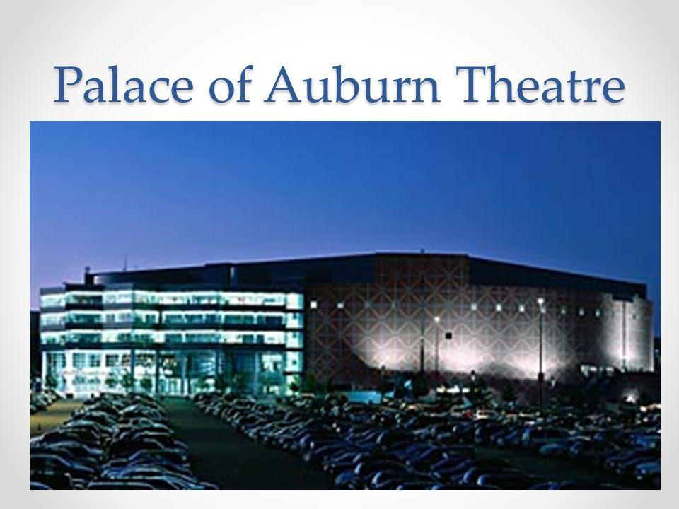 Palace of Auburn Theatre