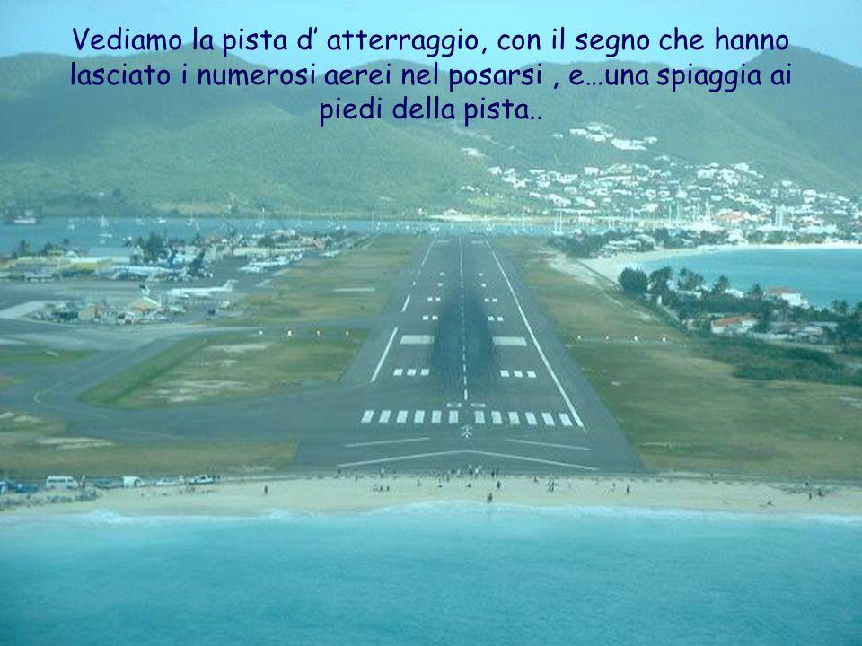 Questa e l immagine che si distingue dalla cabina di comando di un aereo.