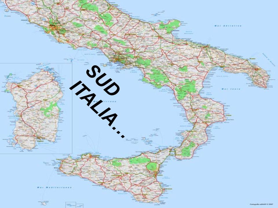 SUD ITALIA…