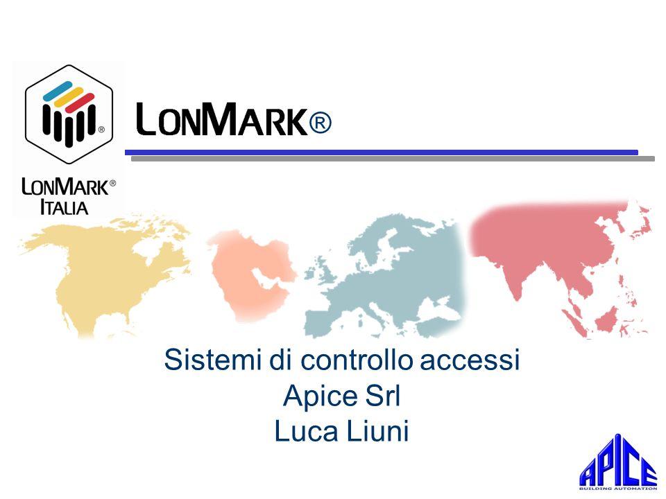 LonMark Italia Sommario – Concetti principali del controllo accessi – Composizione di un sistema di controllo accessi LON – Vantaggi della tecnologia LON – Vantaggi dellintegrazione