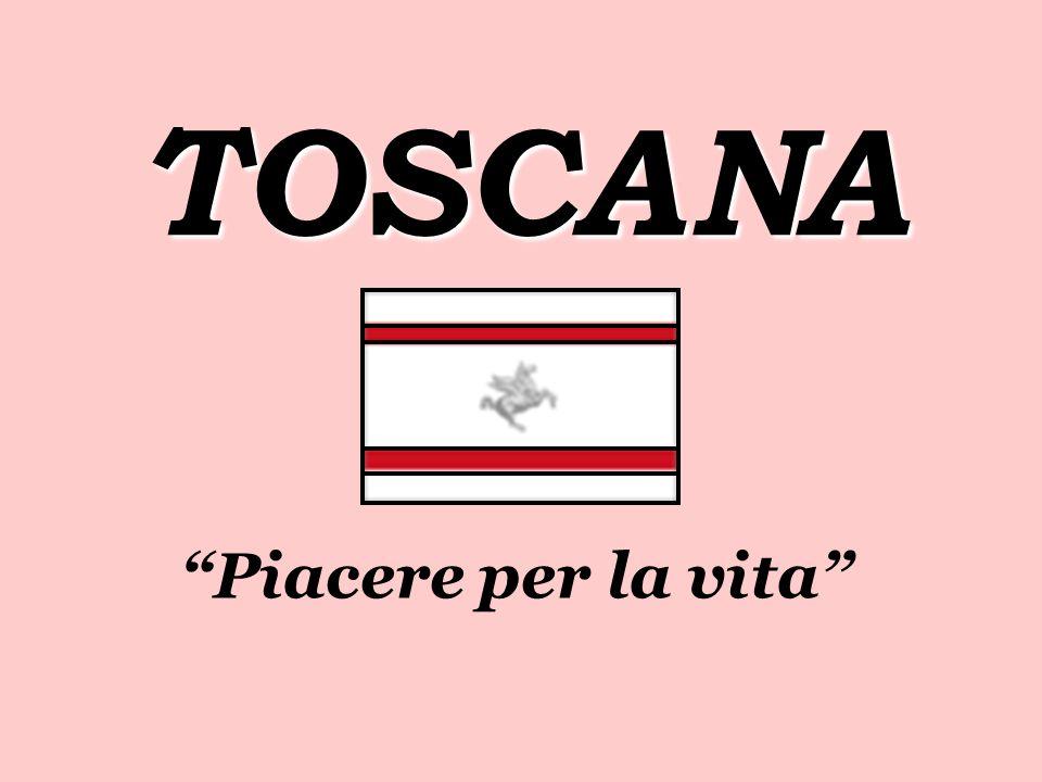 CARATTERISTICHE PRINCIPALE : La Toscana si trova nel centro della Italia.
