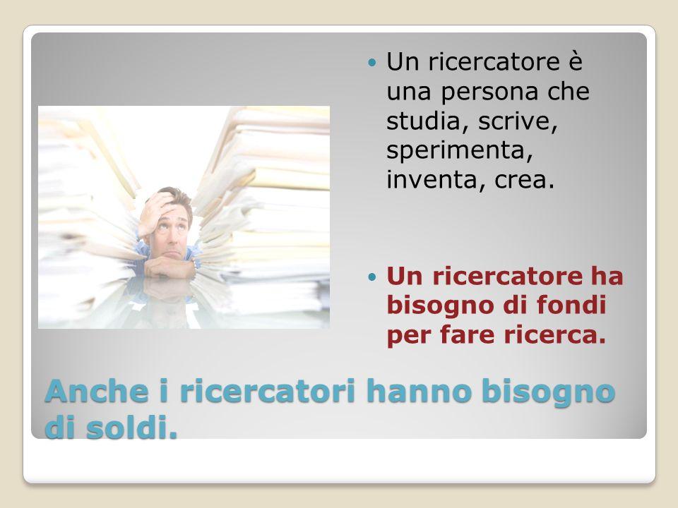 LItalia investe poco in ricerca In Italia gli investimenti in ricerca e innovazione sono fermi all1,1 per cento del Pil.