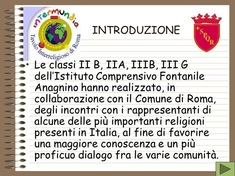 Le classi II B, IIA, IIIB, III G dellIstituto Comprensivo Fontanile Anagnino hanno realizzato, in collaborazione con il Comune di Roma, degli incontri