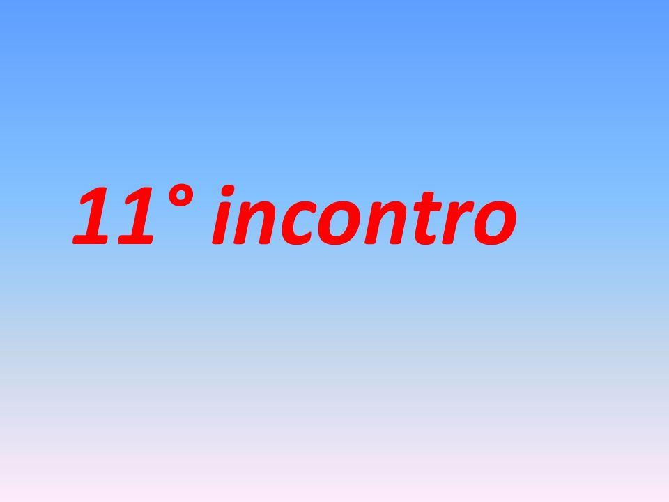 11° incontro
