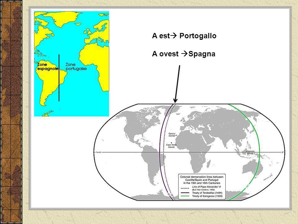 A est Portogallo A ovest Spagna