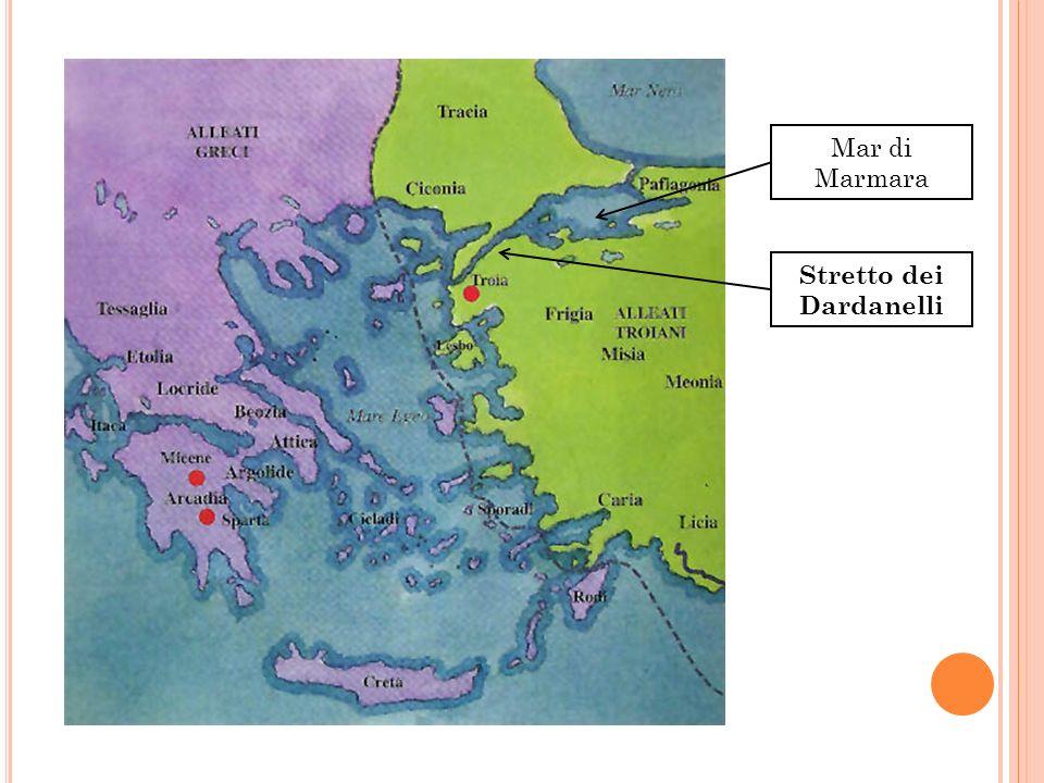 Stretto dei Dardanelli Mar di Marmara