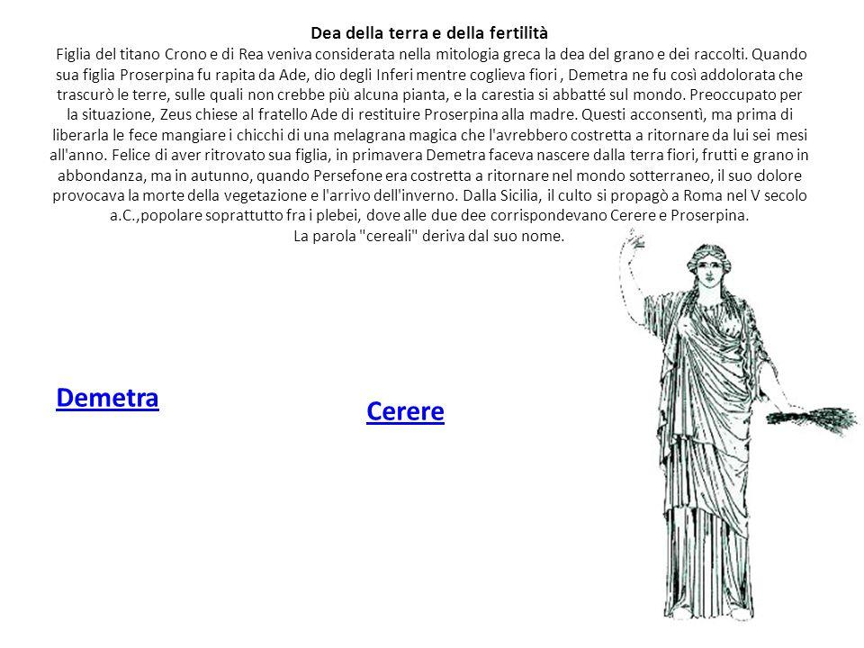 Dea del focolare domestico Estia Vesta, figlia di Saturno e di Opi, sorella di Giove, è una figura della mitologia romana.