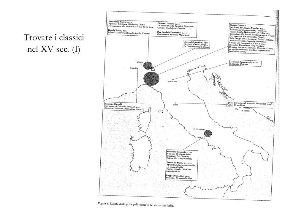 Trovare i classici nel XV sec. (I) 29