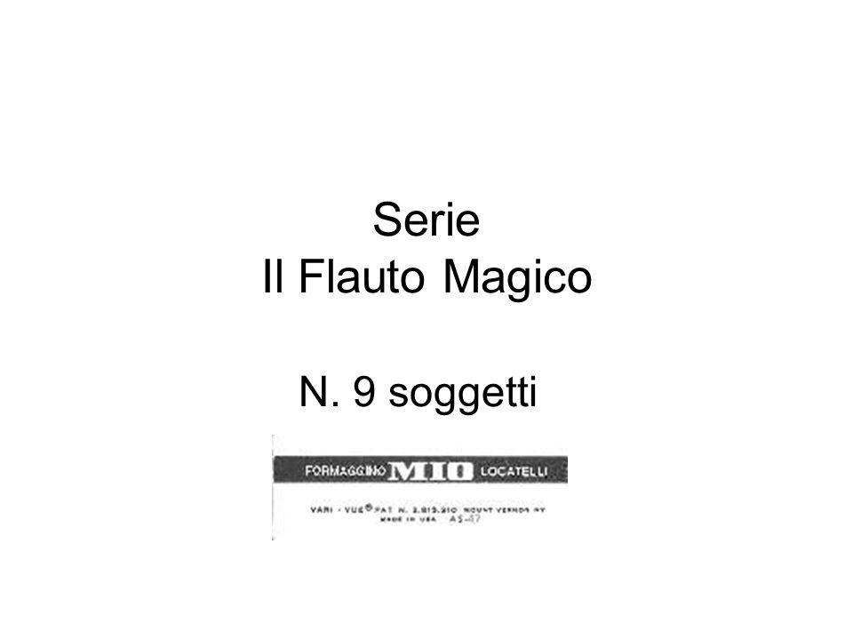 Serie il Flauto Magico – N.9 soggetti N. 180 Molti e molti anni fa la città di H.