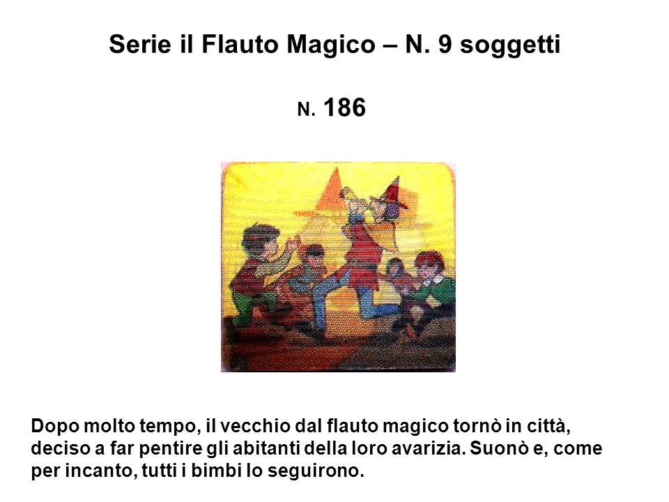 Serie il Flauto Magico – N.9 soggetti N.