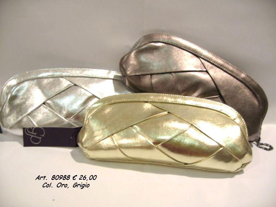 Art. 80349 22,40 Col. Argento, Bianco