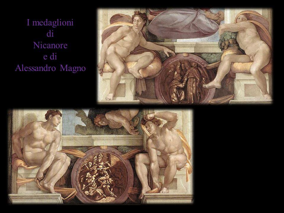 I medaglioni di Nicanore e di Alessandro Magno