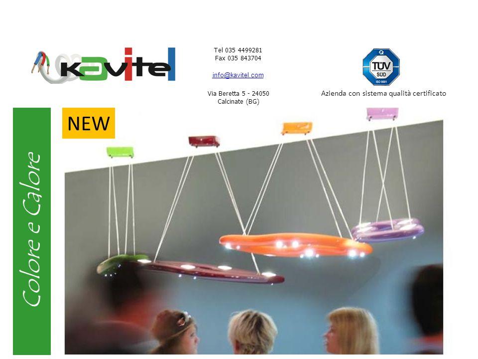 Tel 035 4499281 Fax 035 843704 info@kavitel.com Via Beretta 5 - 24050 Calcinate (BG) Azienda con sistema qualità certificato Sfumature di luce Plafoniera componibile.