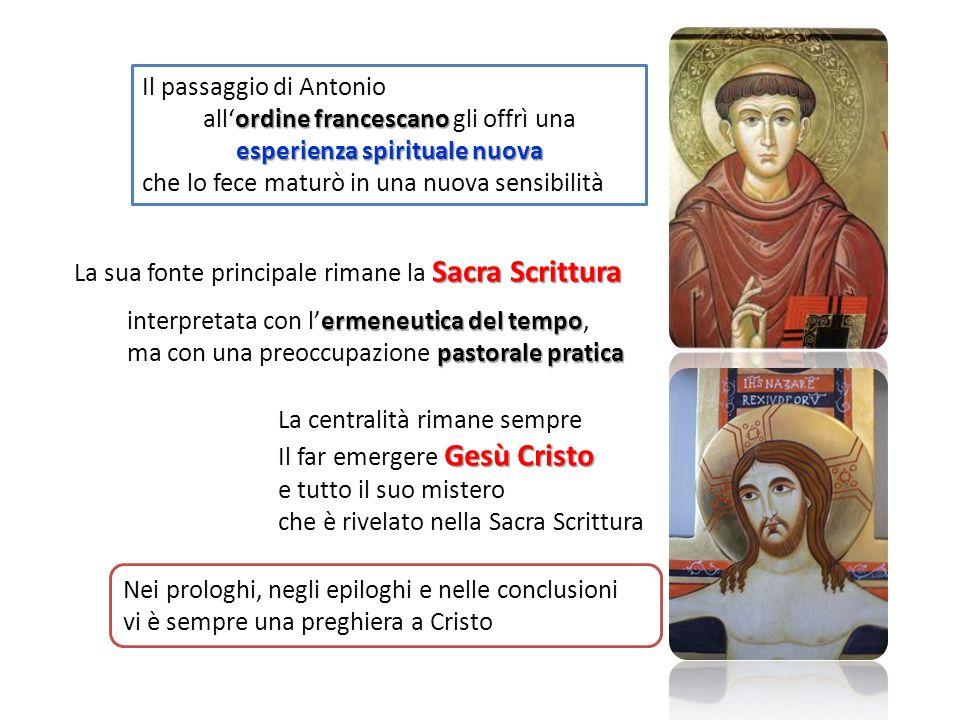 Il passaggio di Antonio ordine francescano esperienza spirituale nuova allordine francescano gli offrì una esperienza spirituale nuova che lo fece mat