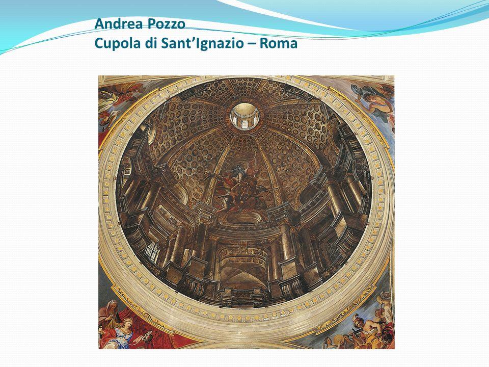 Andrea Pozzo Cupola di SantIgnazio – Roma