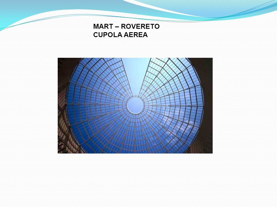 MART – ROVERETO CUPOLA AEREA