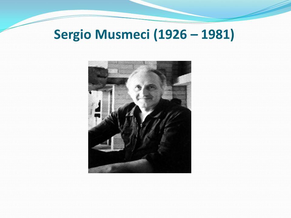 Sergio Musmeci (1926 – 1981)