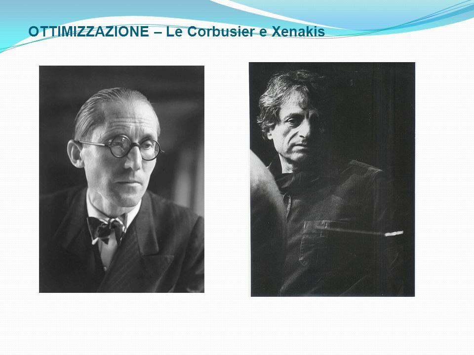 OTTIMIZZAZIONE – Le Corbusier e Xenakis