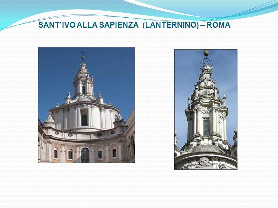 SANTIVO ALLA SAPIENZA (LANTERNINO) – ROMA