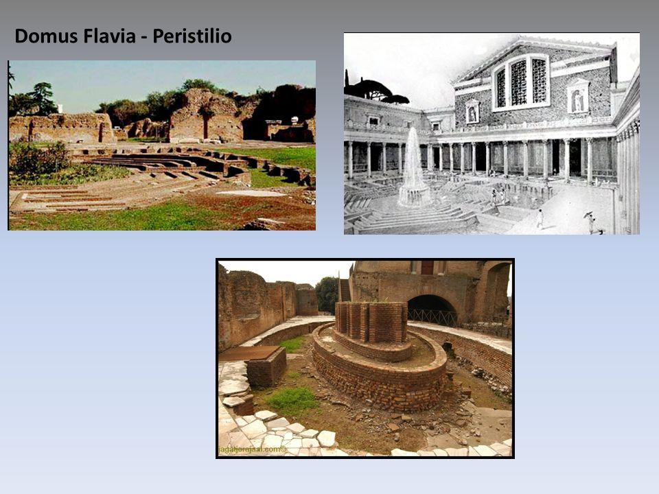 Domus Flavia - Peristilio
