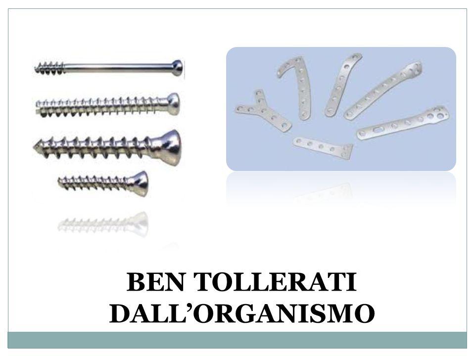 BEN TOLLERATI DALLORGANISMO