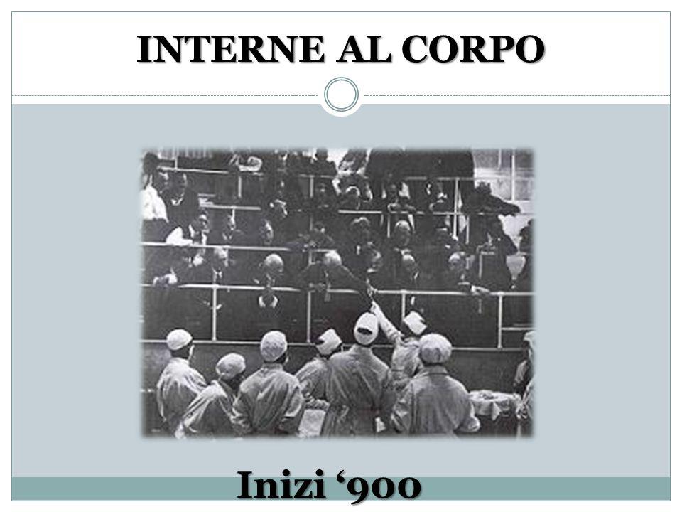 INTERNE AL CORPO Inizi 900