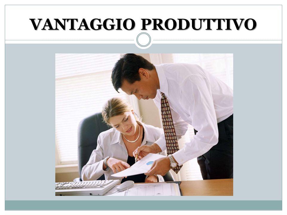 VANTAGGIO PRODUTTIVO