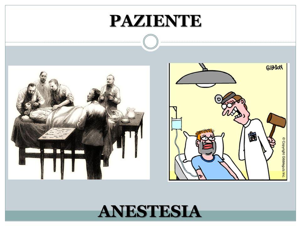 ANESTESIA PAZIENTE