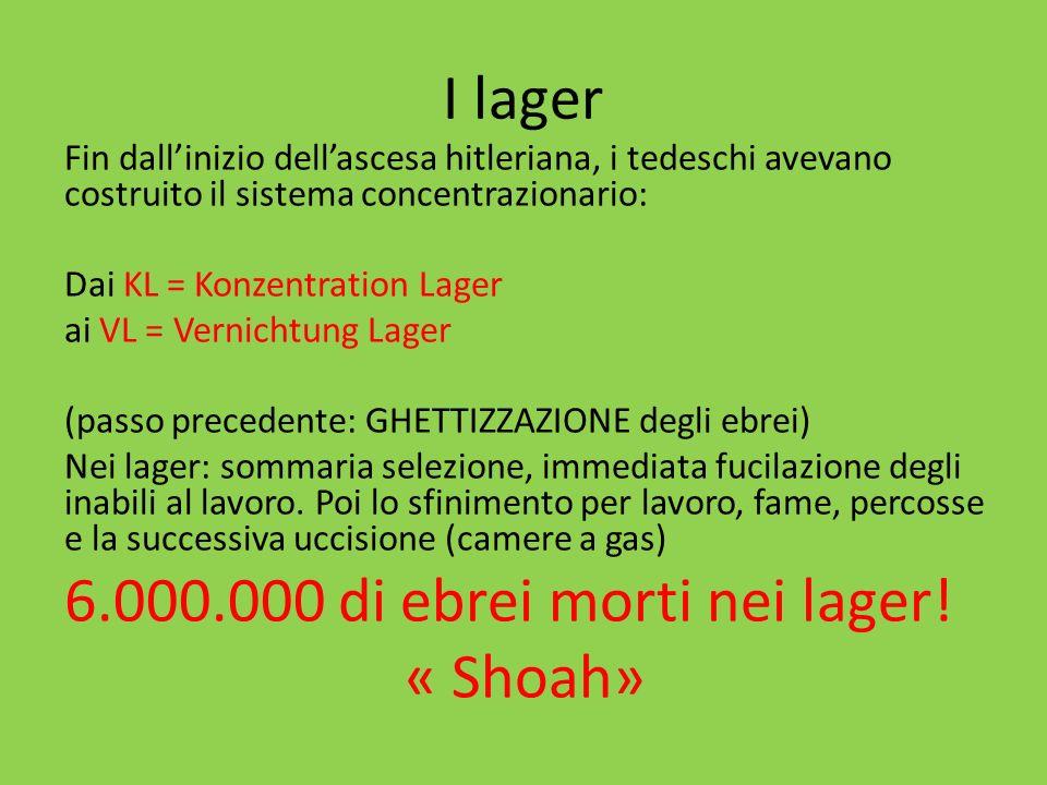 I lager hanno un bilancio IN ATTIVO: gli ebrei «pagano» la propria distruzione… Requisizione di tutti i beni degli ebrei,compresi denti doro, capelli, ecc.