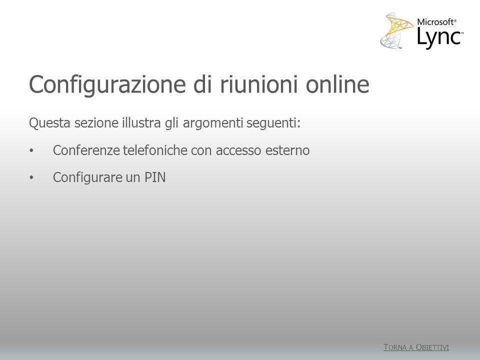 Condividere il desktop e le applicazioni Attività 3 1.Fare clic su Partecipa a riunione online per accedere alla riunione.