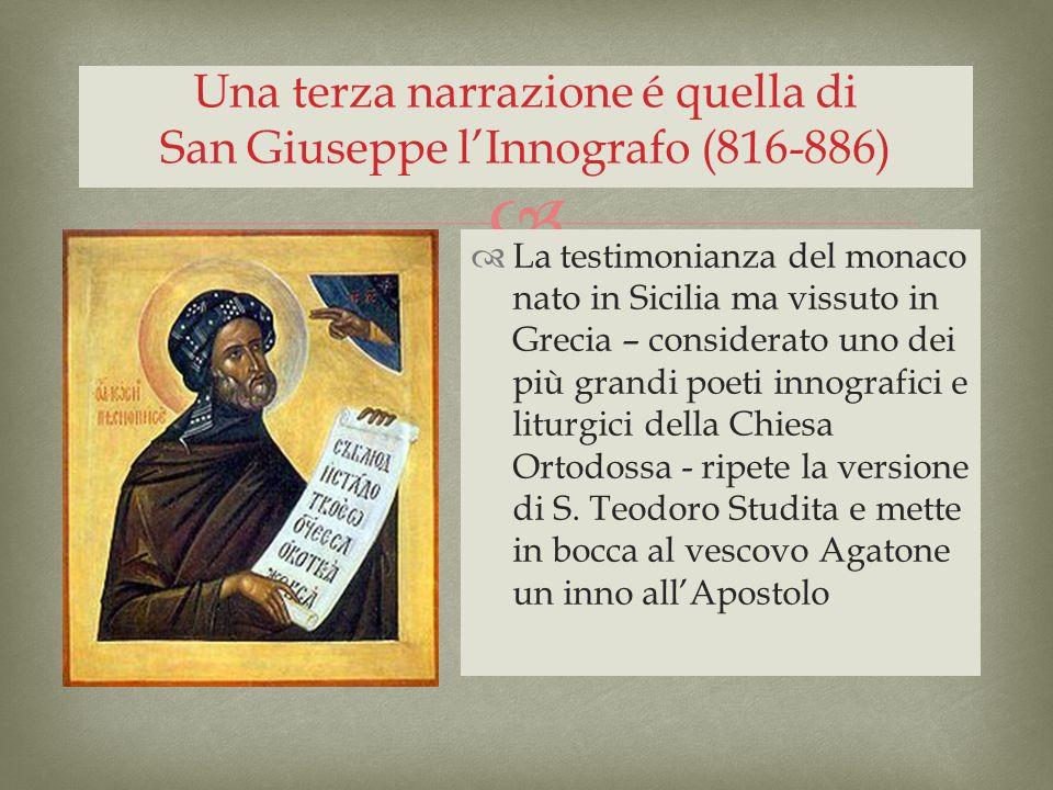La testimonianza del monaco nato in Sicilia ma vissuto in Grecia – considerato uno dei più grandi poeti innografici e liturgici della Chiesa Ortodossa