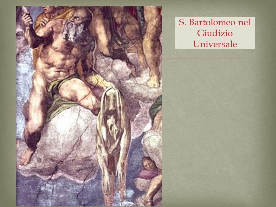 S. Bartolomeo nel Giudizio Universale