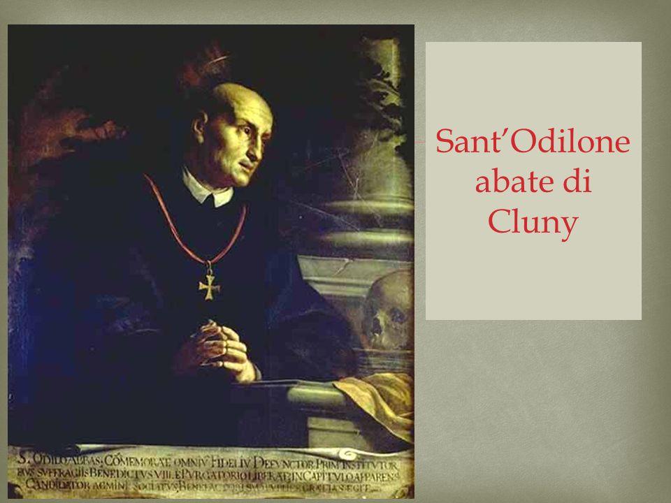 SantOdilone abate di Cluny