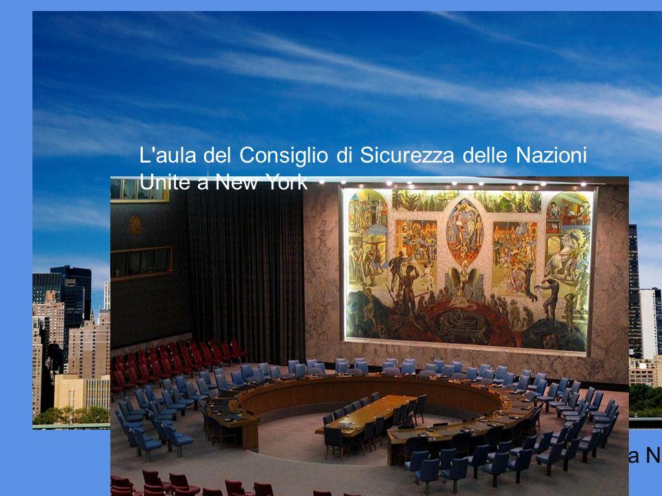 La sede centrale dell'ONU (il