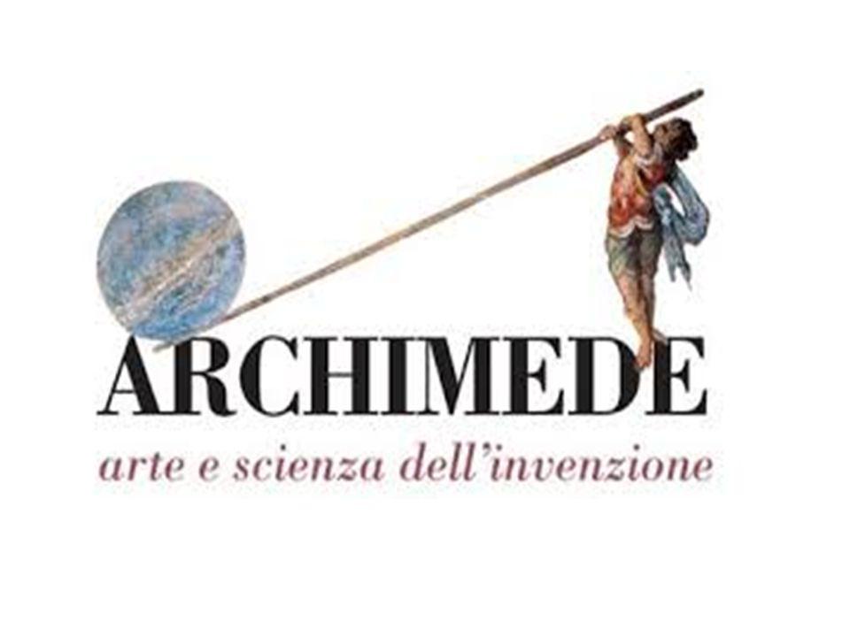 LA LEVA Archimede era un bravo sperimentatore e a lui dobbiamo molte leggi della statica, la parte della fisica che studia lequilibrio.