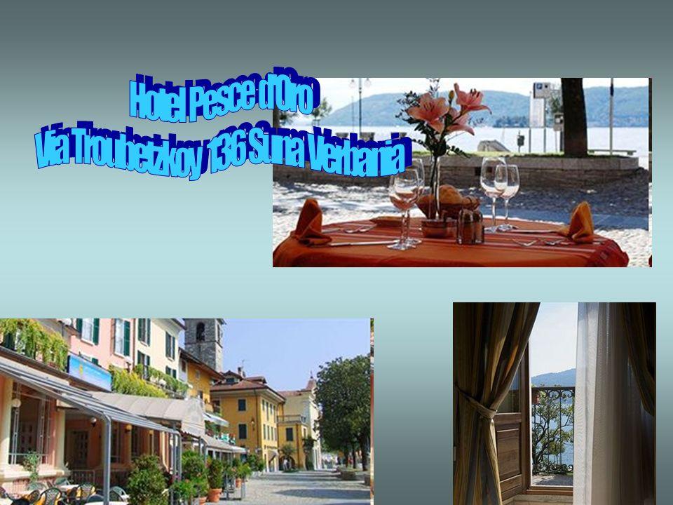 soggiorno in Hotel Pesce doro 3* sul Lago di Verbania trattamento di mezza pensione, bevande incluse, servizio al tavolo; sistemazione in camere doppi