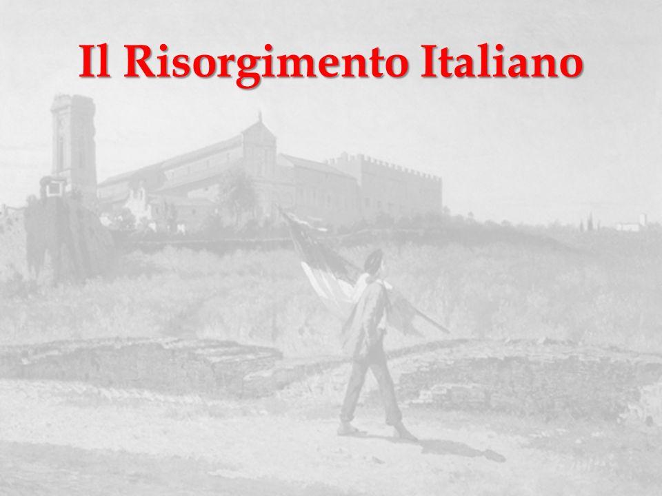 Definizione Con Risorgimento la storiografia si riferisce al periodo della storia d Italia durante il quale la nazione italiana conseguì la propria unità nazionale, riunendo in un solo nuovo Stato - il Regno d Italia - i precedenti Stati preunitari.